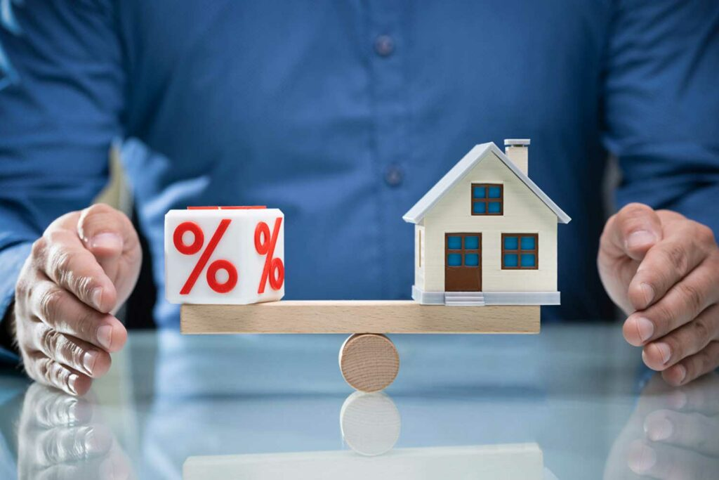 Tasas de interés para créditos hipotecarios en Chile
